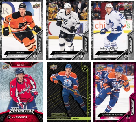 2016-17 Upper Deck Compendium Hockey Cards 3