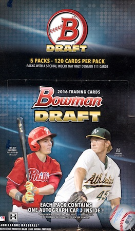 2016 Bowman Draft Baseball Cards 69