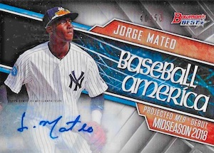 2016 Bowman's Best Baseball Cards 30