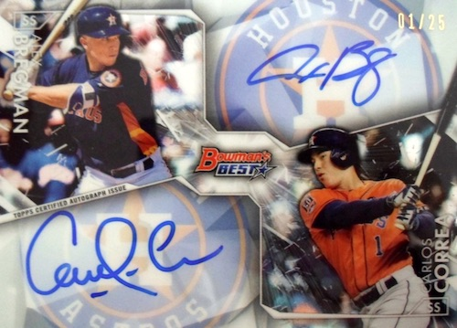 2016 Bowman's Best Baseball Cards 31