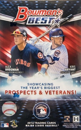 2016 Bowman's Best Baseball Cards 67
