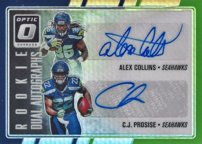 2016 Donruss Optic Football Cards 32