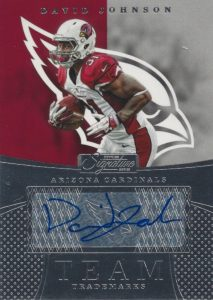 2016 Donruss Signature Series Football Cards - Checklist Added 26