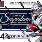 2016 Donruss Signature Series Football Cards - Checklist Added