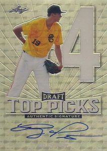 2016 Leaf Metal Draft Baseball Cards 26