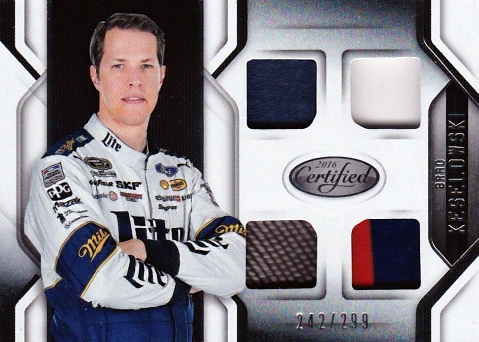 2016 Panini Certified NASCAR Racing Cards 28