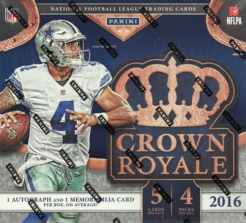 2016 Panini Crown Royale Football Cards 3
