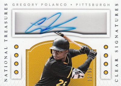 2016 Panini National Treasures Baseball