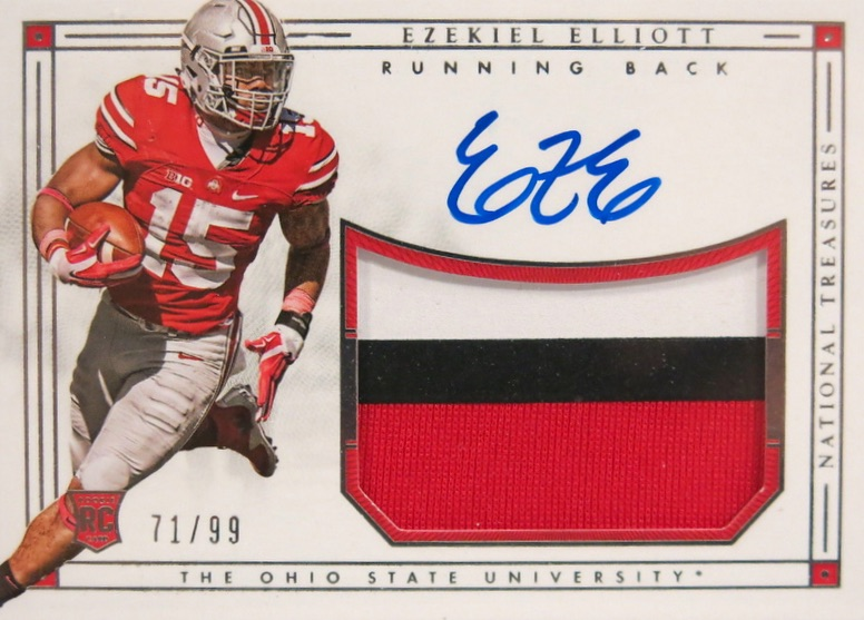 Top Ezekiel Elliott Rookie Cards 19