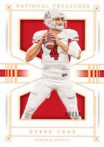 2016 Panini National Treasures Collegiate Football Cards - Checklist Added 20