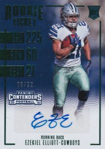 Top Ezekiel Elliott Rookie Cards 26
