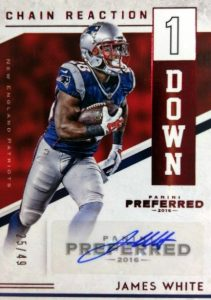 2016 Panini Preferred Football Cards - Checklist Added 26