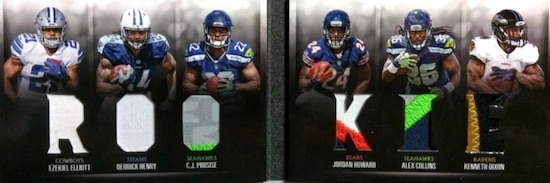 2016 Panini Preferred Football Cards - Checklist Added 30