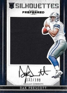 2016 Panini Preferred Football Cards - Checklist Added 22