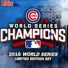 2016 Topps Chicago Cubs World Series Champions Limited Edition Set - Checklist Added