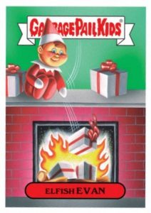 2016 Topps Garbage Pail Kids Christmas Cards 23