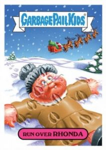 2016 Topps Garbage Pail Kids Christmas Cards 24
