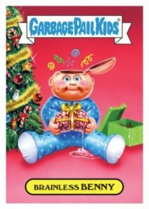 2016 Topps Garbage Pail Kids Christmas Cards 25