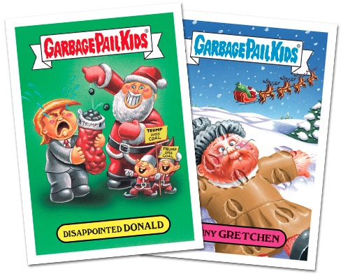 2016 Topps Garbage Pail Kids Christmas Cards 1