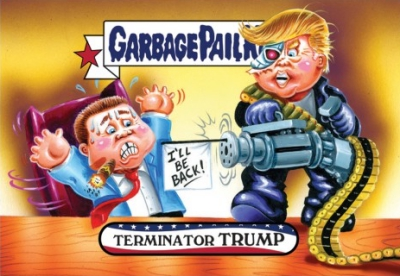 2016-17 Topps Garbage Pail Kids Disg-Race to the White House - Updated 125