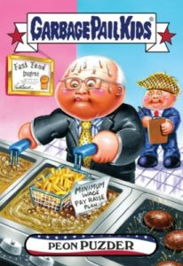 2016-17 Topps Garbage Pail Kids Disg-Race to the White House - Updated 129