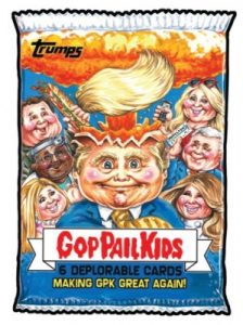 2016-17 Topps Garbage Pail Kids Disg-Race to the White House - Updated 128