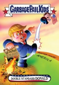 2016-17 Topps Garbage Pail Kids Disg-Race to the White House - Updated 115