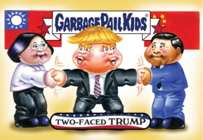 2016-17 Topps Garbage Pail Kids Disg-Race to the White House - Updated 118