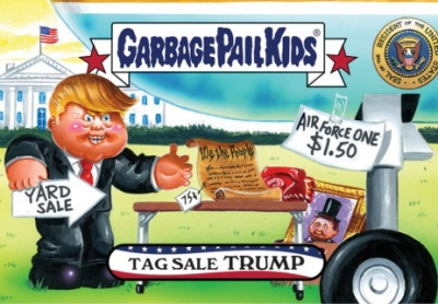 2016-17 Topps Garbage Pail Kids Disg-Race to the White House - Updated 122
