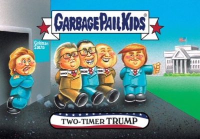 2016-17 Topps Garbage Pail Kids Disg-Race to the White House - Updated 135