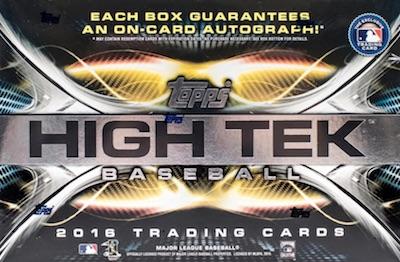 2016 Topps High Tek Baseball Cards 52