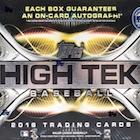 2016 Topps High Tek Baseball Cards