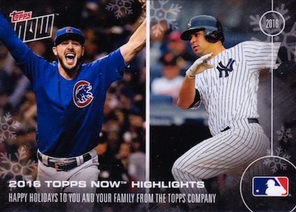 2016-17 Topps Now Off-Season Baseball Cards 1
