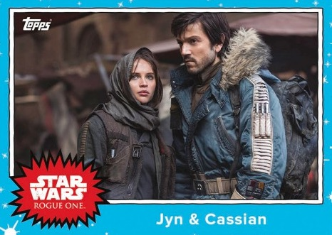 2016 Topps Star Wars Rogue One Mission Briefing Monday Trading Cards - Final Set 28