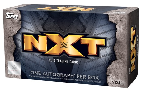 2016 Topps WWE NXT Wrestling Cards 1