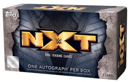 2016 Topps WWE NXT Wrestling