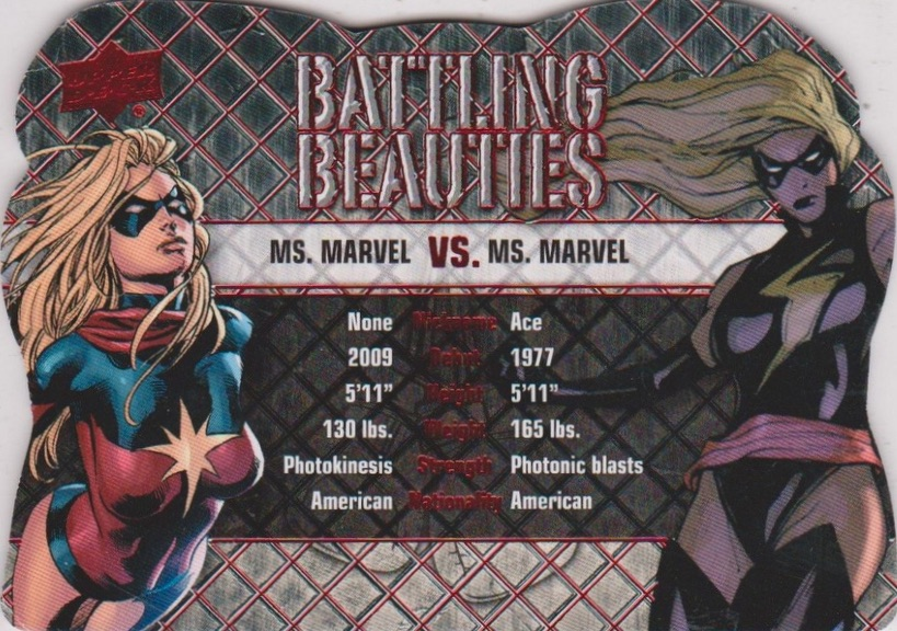 2016 Upper Deck Marvel Gems Trading Cards - Checklist Added 22