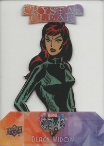 2016 Upper Deck Marvel Gems Trading Cards - Checklist Added 23