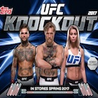 2017 Topps UFC Knockout MMA Cards