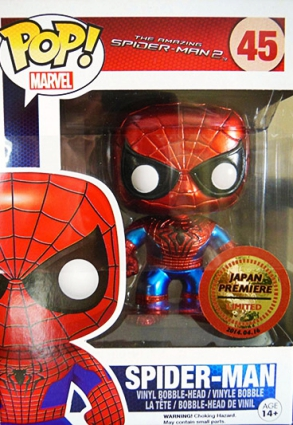 Ultimate Funko Pop Spider-Man Figures Checklist and Gallery 12