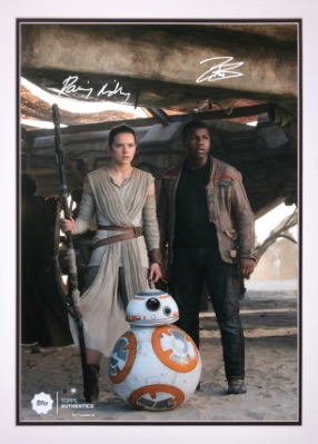 Topps and Lucasfilm Announce Launch of Star Wars Authentics Website 1