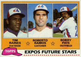 Top 10 Tim Raines Baseball Cards 10