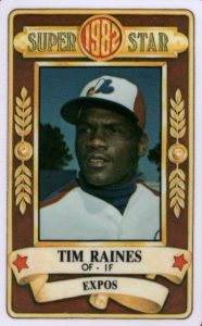 Top 10 Tim Raines Baseball Cards 3