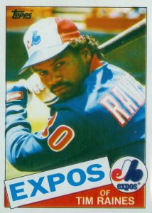 Top 10 Tim Raines Baseball Cards 6