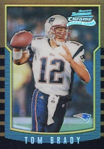 Top Tom Brady Rookie Cards Best List Most Popular Valuable Ranked
