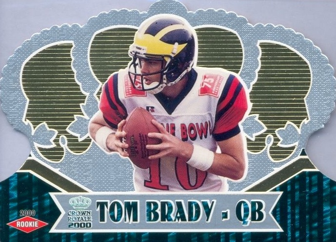 Top Tom Brady Rookie Cards 2