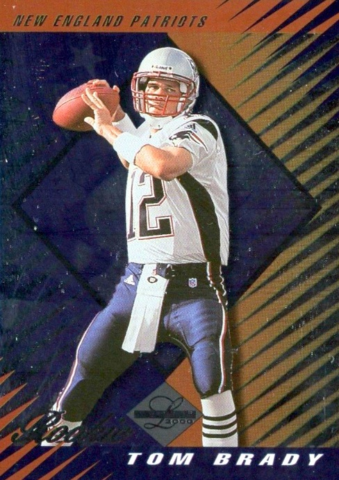 Top Tom Brady Rookie Cards 11