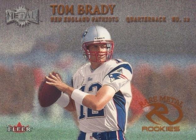 Top Tom Brady Rookie Cards 1