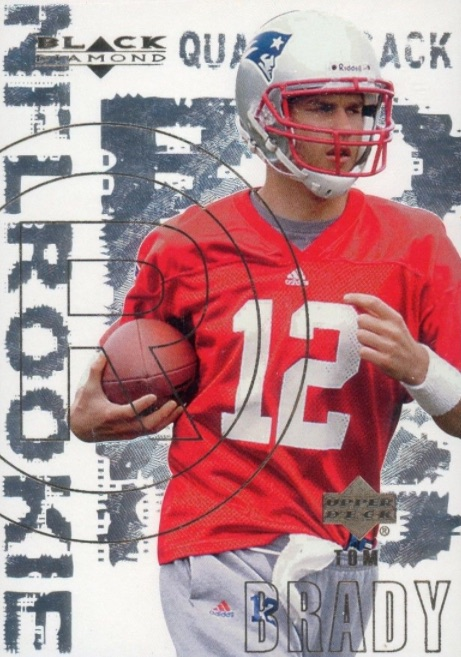 Top Tom Brady Rookie Cards 3