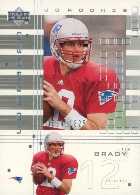 Top Tom Brady Rookie Cards 5